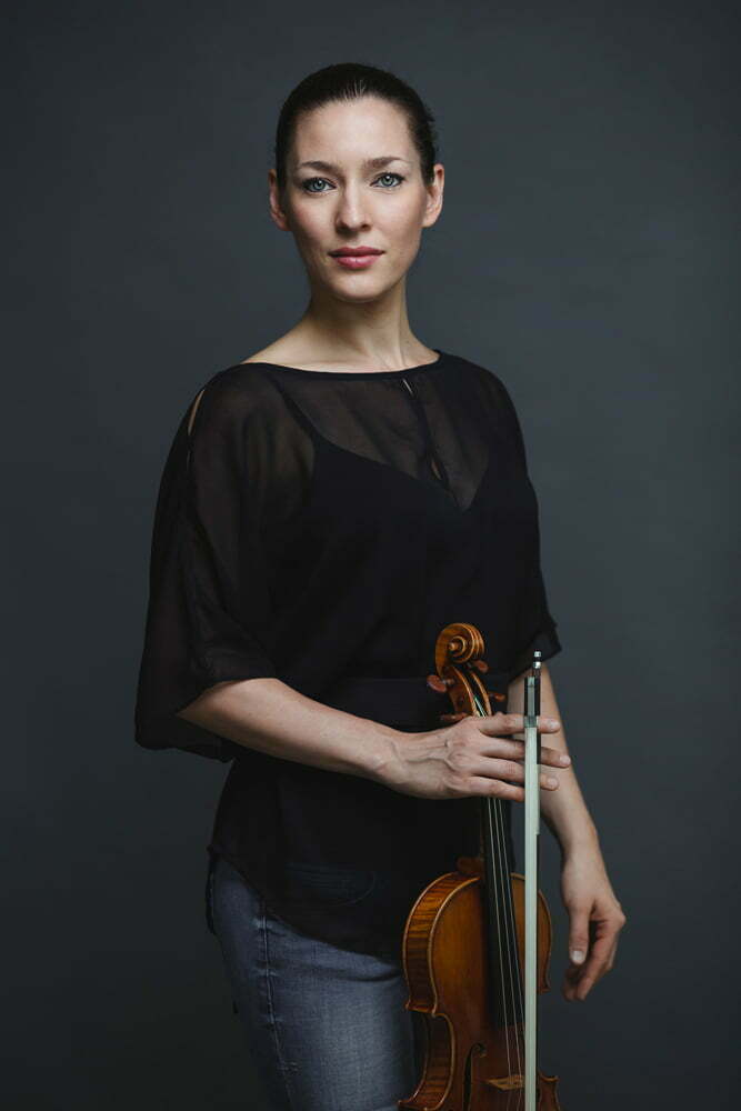 Portrait of violinist Uliana Drugova