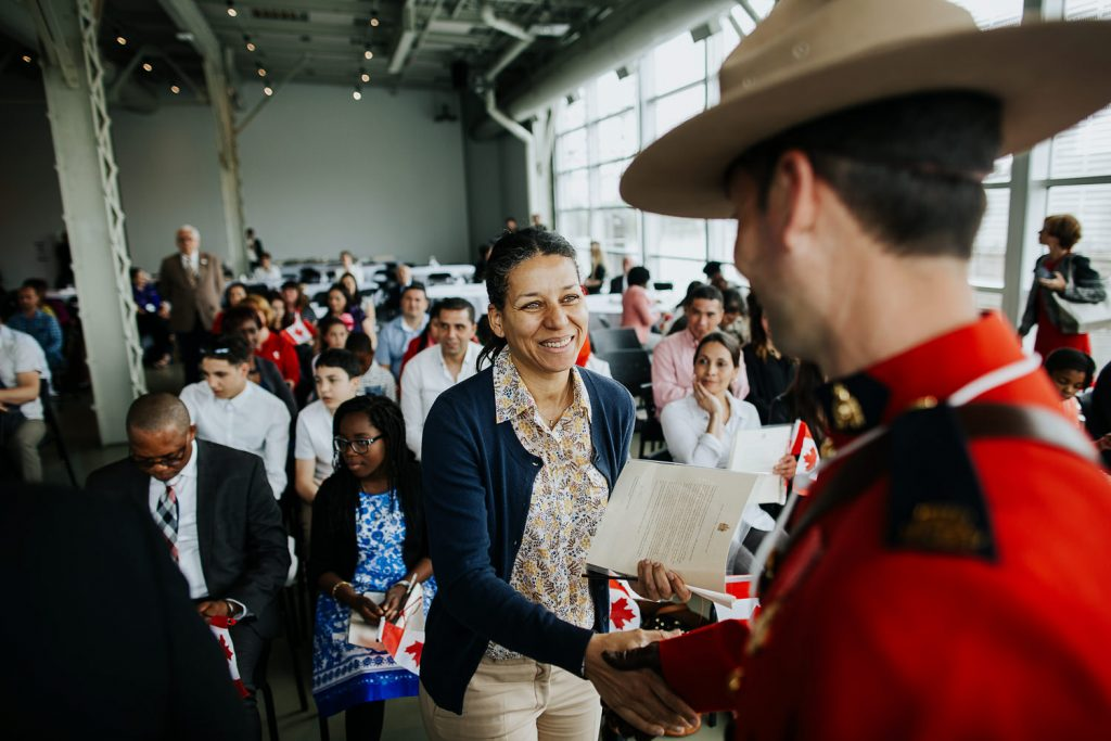 Canadian Citizenship Ceremony