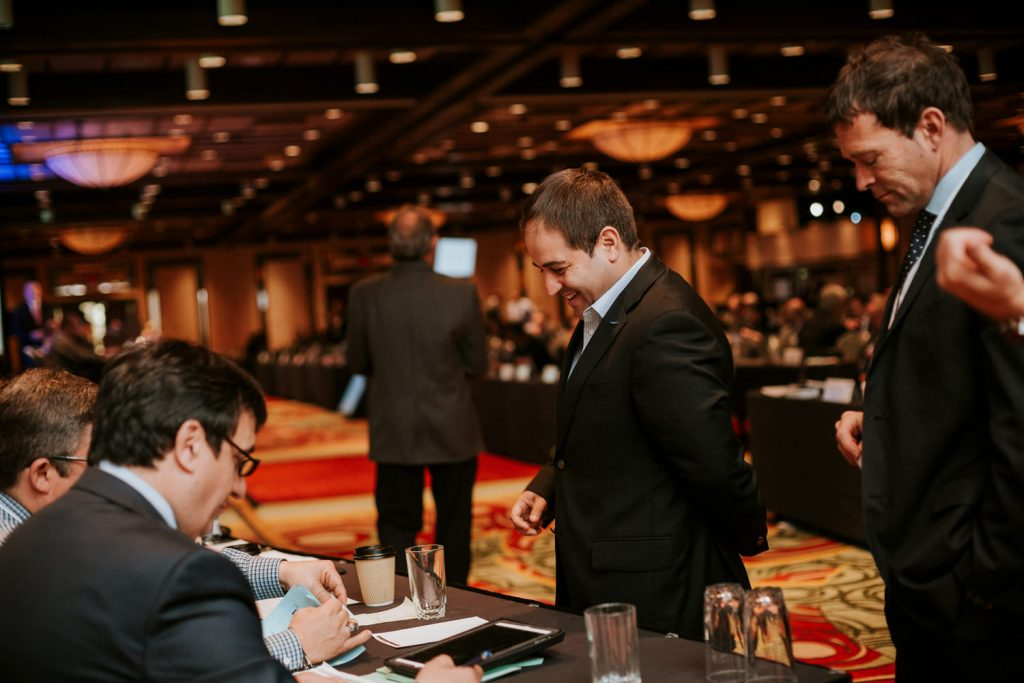 Montreal conference event photography
