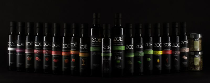 Zoe Olive Oil products