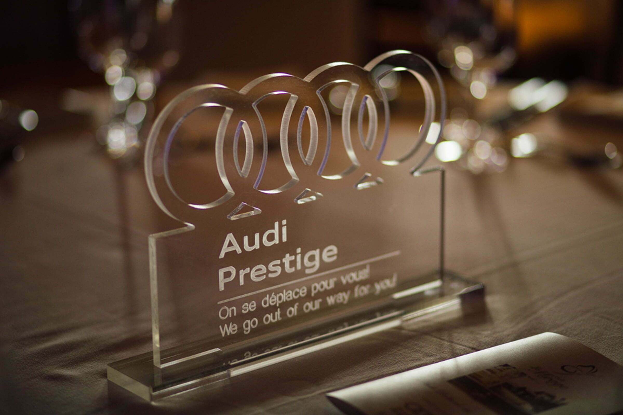 Audi Prestige golf tournament