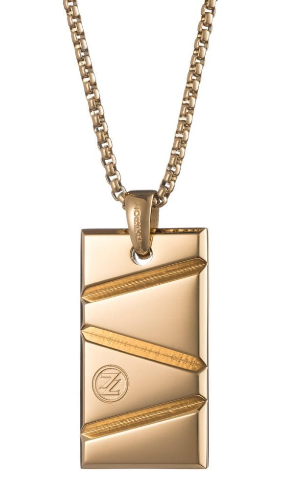 Nugget of gold pendant