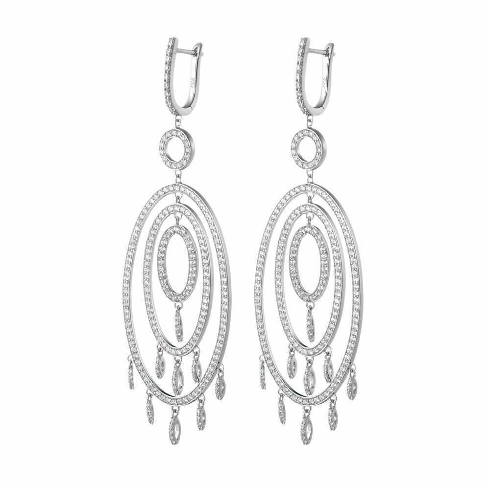 Montreal Jewelry Photography -silver earring