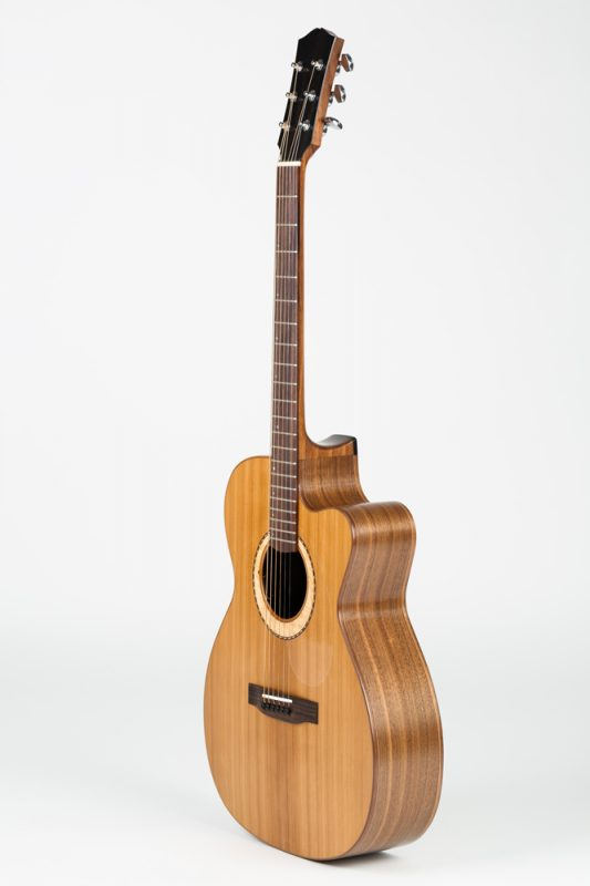 Guitar made by Theo Kazourian Luthier